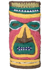 Tiki Pinata. Unfilled. Remember to order your pinata buster, blindfold and fillers on our pinata page.