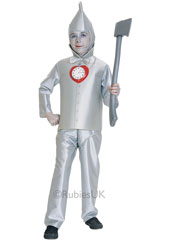 The tinsmith may have forgotten to give you a heart, but that's the only thing you'll be missing when you wear this faithful reproduction of the Tin Man from The Wizard of Oz. We've even included the pocket watch given by the Wizard. From the Wizard