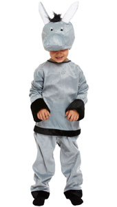 Donkey Costume, includes hat, top with tail and trousers.