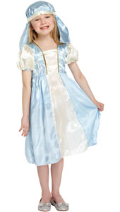 Mary Costume, includes dress and headpiece.