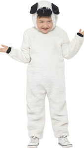 Child Sheep Hooded Jumpsuit