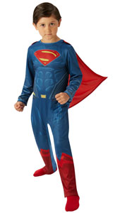 Child Superman Costume from Dawn of Justice Batman v Superman Movie
