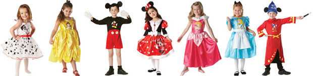 Disney Costumes Childrens
