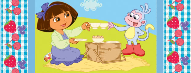 Dora The Explorer Partyware