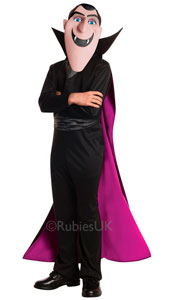 Hotel Transylvania Dracula  Contains Shirtfront, Cape, Trousers & Mask