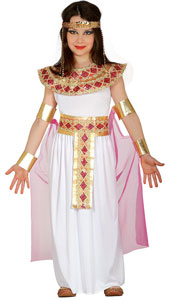 Egyptian Girl Costume includes dress  belt and cape