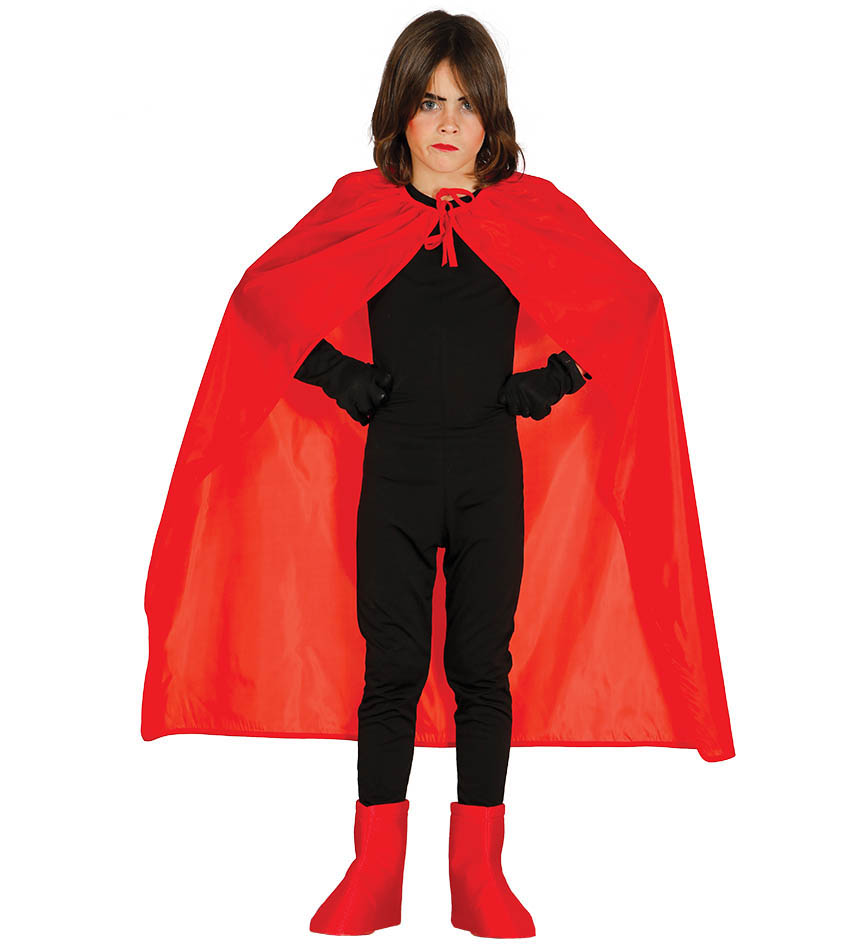 childs childrens girls boys red capes cloaks