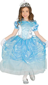 Blue Princess Costume includes dress only.