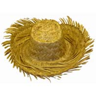 Mens Beachcomber Straw Hat