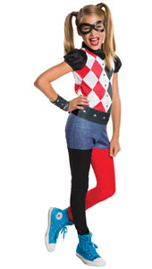 Dress up in Harley Quinn�s checks and get all of your class laughing. Harley�s the joker in the pack, always ready to sneak up with an unexpected pranks and an acrobatic twirl. Jump into your jumpsuit, ready for some A-grade laughs.