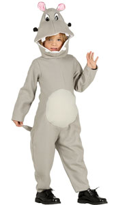 Child Hippo Costume includes jumpsuit with hood and tail