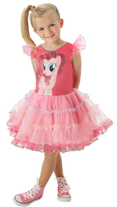 My Little Pony Pinkie Pie Costume inlcudes dress only.