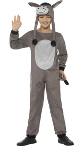 Deluxe Cosy Donkey Costume includes jumpsuit and hat