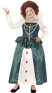 Horrible Histories Elizabeth I Costume includes dress only.