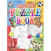 Mini A6 size puzzle book, suitable for the very young.  Book length 15cm.