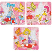 Fairy Puzzle.  13cm * 13cm.  Available in an assortment of 3 different fairy pictures.
