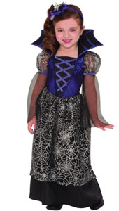 Miss Web Wicked Costume includes:  Dress Headband