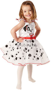 For all puppy-sized princesses who love giving their Dalmatian spots a twirl, this ballerina outfit with its lovely layered dress will win you 101 fans and more.
