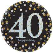 40th Birthday Party Supplies