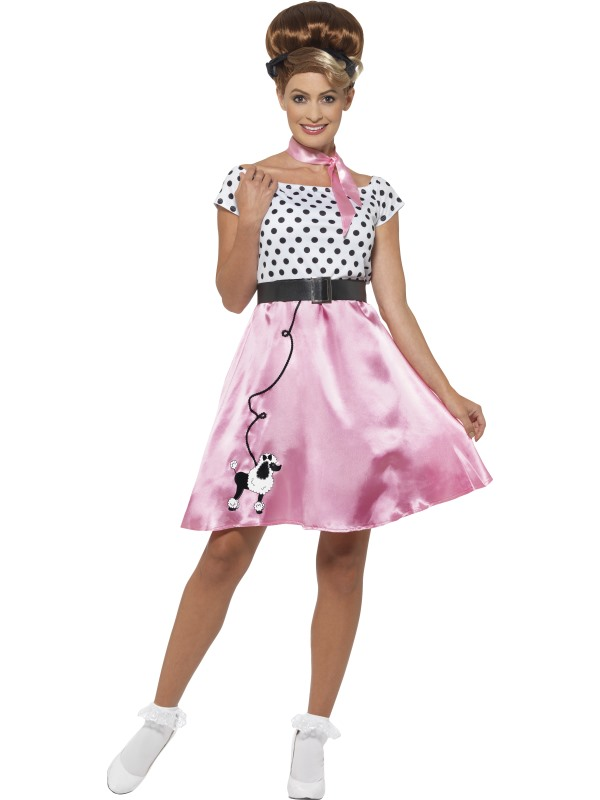 50s Rock n Roll Costume Fancy Dress Costumes & Party Supplies ...