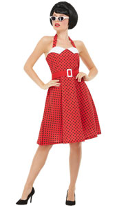 c388a58166f5 50s Poodle Dresses & Teddy Boy Costumes - Fancy Dress Costumes ...