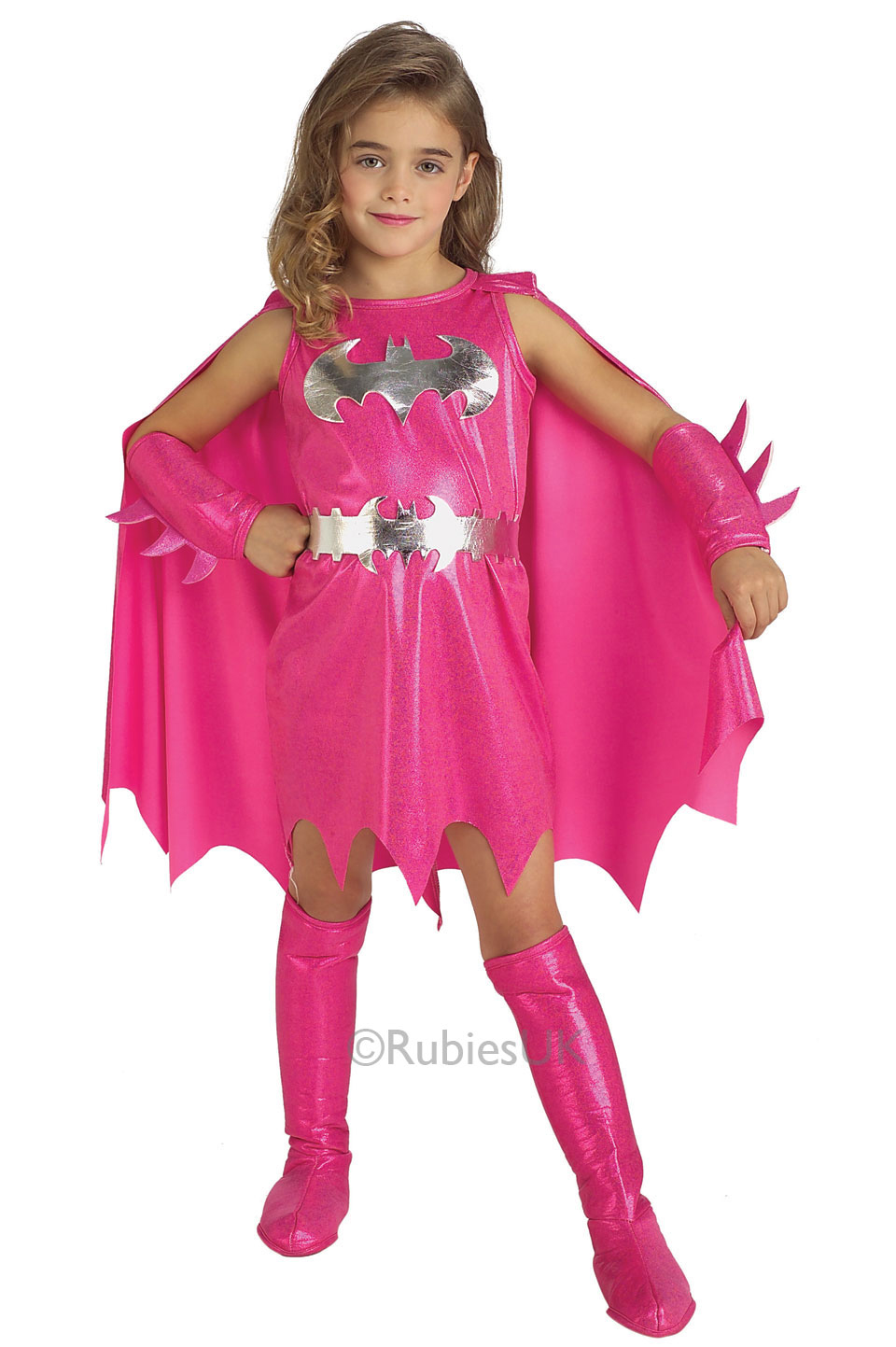Pink Batgirl Costume Fancy Dress Costumes & Party Supplies Ireland ...