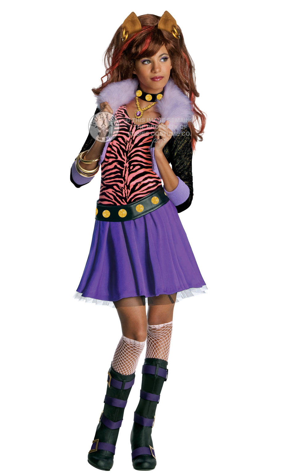 Monster High Clawdeen Wolf Fancy Dress Costumes & Party Supplies ...