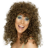 Boogie Babe Wig - Brown