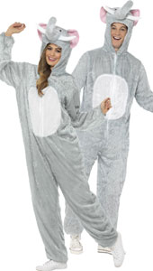 Elephant Costume, includes jumpsuit with hood.