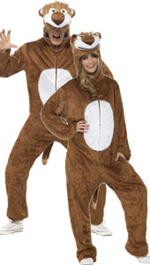 Adult Lion Costume, includes jumpsuit with hood.