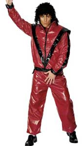 Thriller Costume, includes trousers and jacket.