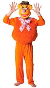 Deluxe Fozzy Bear Costume, includes furry top, trousers and EVA mask.