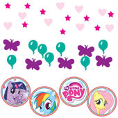 My Little Pony Confetti.  Pack of 3.