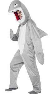 Shark Costume, includes bodysuit and hood.