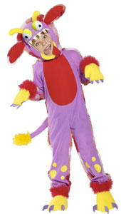 Wacky Grizzle Costume, includes bodysuit, headpiece, shoe covers and gloves.