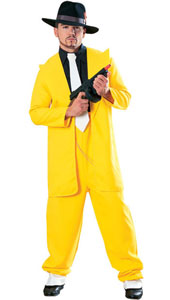 Yellow Zoot Suit, includes jacket and trousers only.