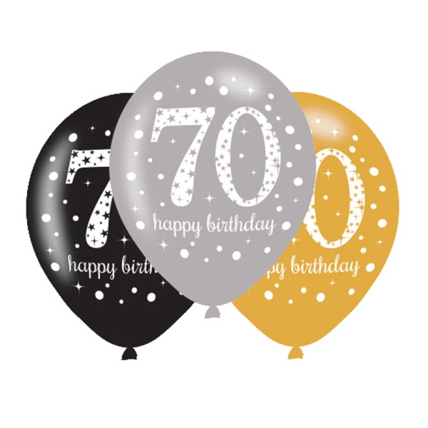 70th Birthday Party Balloons Decorations
