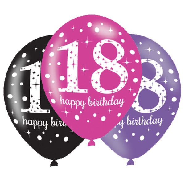 18th Birthday Party Balloons Decorations