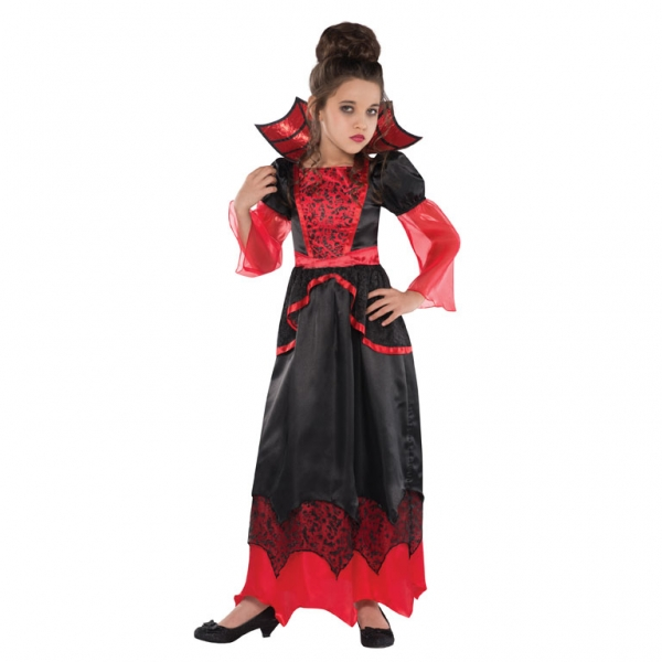 childrens girls halloween v&iresses costumes  sc 1 st  Little Star Parties & Vampire Queen Costume Fancy Dress Costumes u0026 Party Supplies Ireland ...