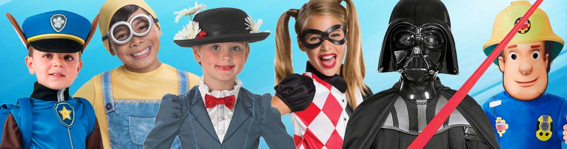 Children's Costumes - Children's Fancy Dress Costumes
