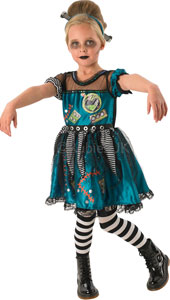 Frankie Girl Costume, Contains Dress and headband