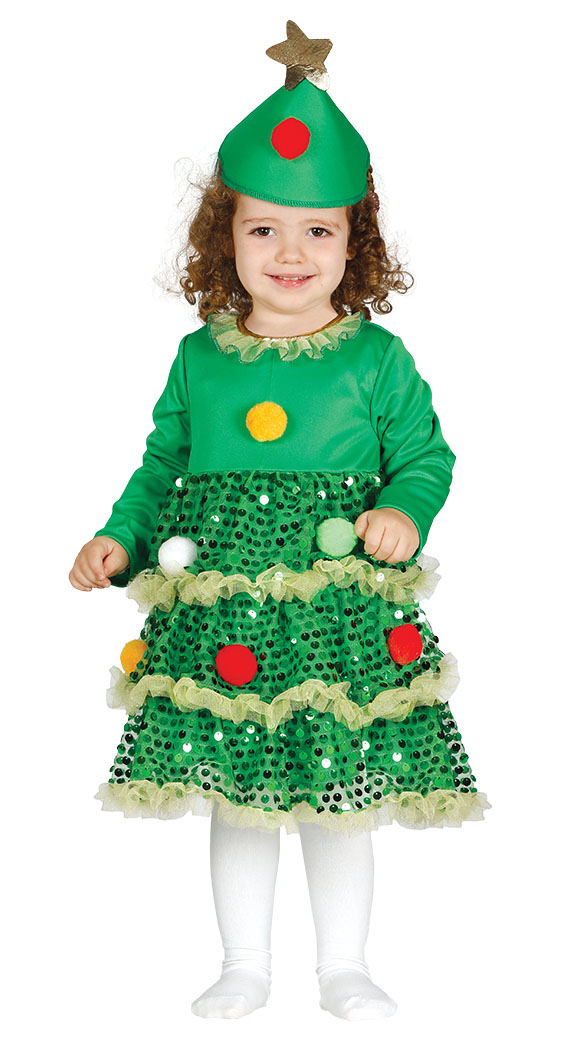 99baa0fbc Baby Christmas Tree Costume Fancy Dress Costumes & Party Supplies ...