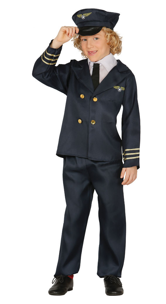 Child Pilot Costume Fancy Dress Costumes Amp Party Supplies