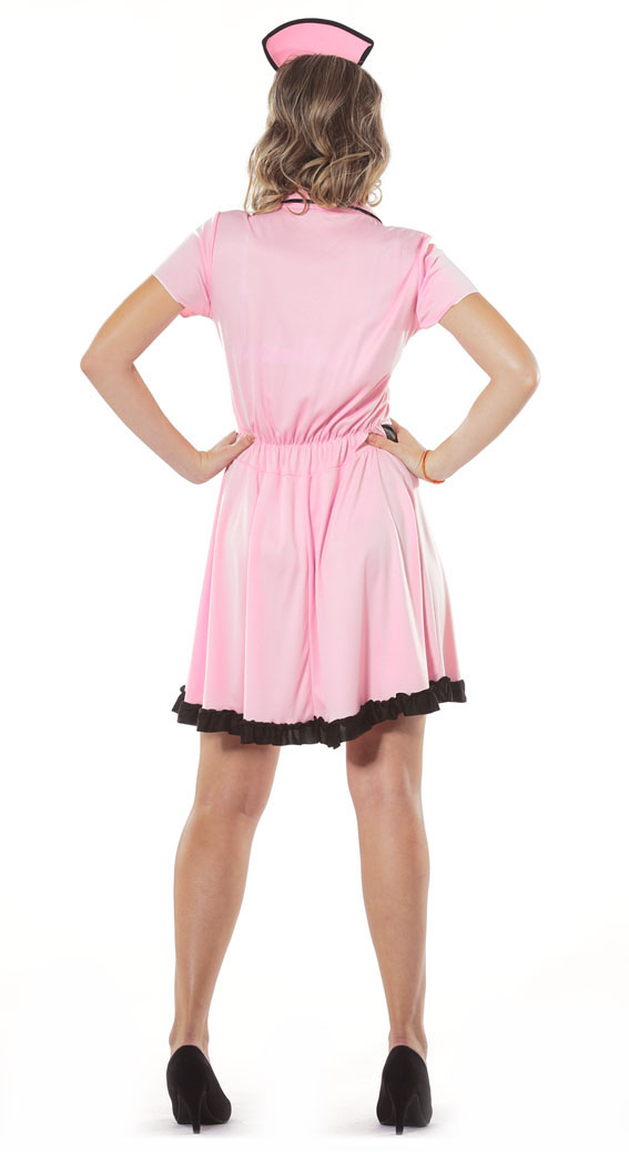 50s Roller Waitress Costume Fancy Dress Costumes & Party Supplies ...