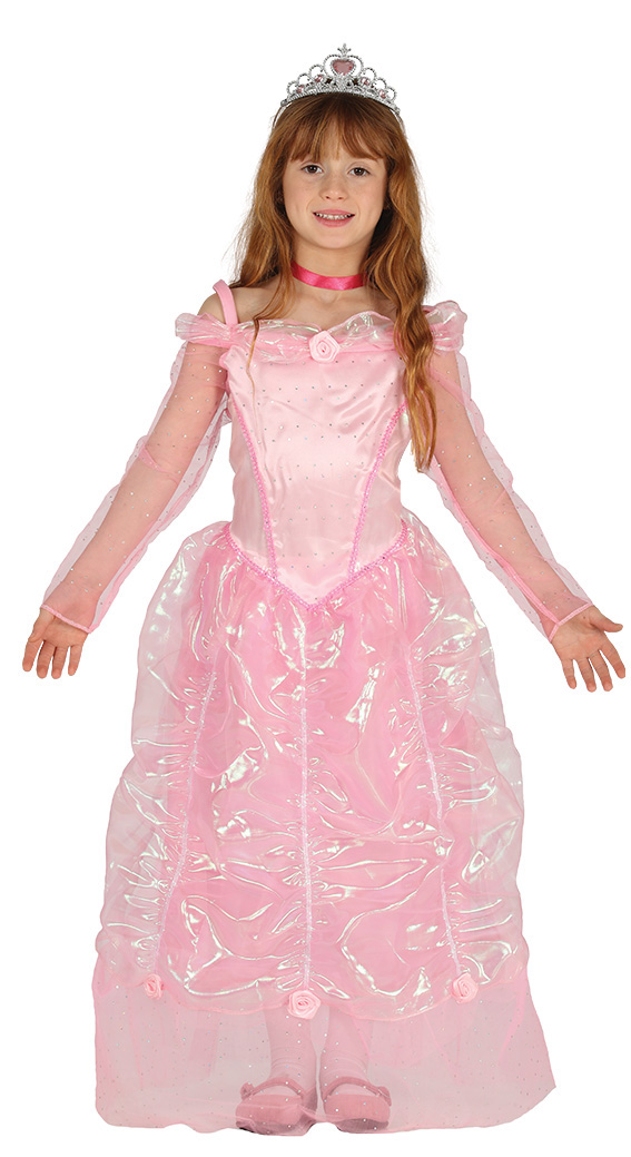 Pretty Pink Princess Costume Fancy Dress Costumes & Party Supplies ...