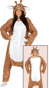 Giraffe Costume includes jumpsuit with hood