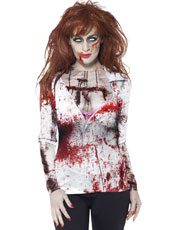 Zombie Gymnast Halloween Costume.Zombie Accessories Fancy Dress Costumes Party Supplies Ireland