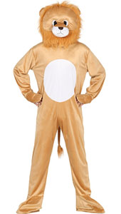 Lion Mascot Costume include jumpsuit and head