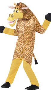 Madagascar Melman the Giraffe Costume includes all in one costume and padded head.
