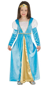 Medieval Girl Costume includes dress and headband.